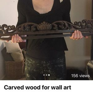 Other - Carved wood for wall